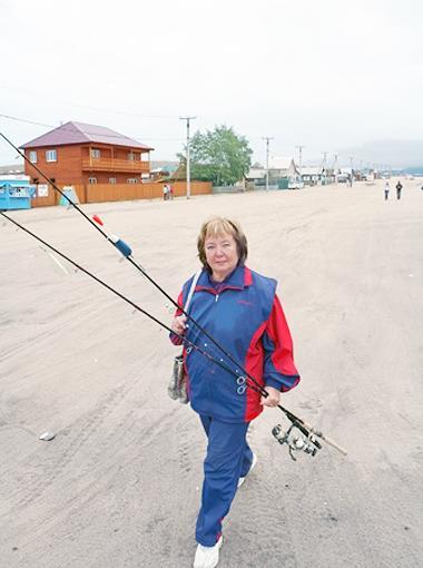Витренко на рыбалке