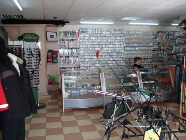 """Рыболовные магазины компании """"Флагман"""""""